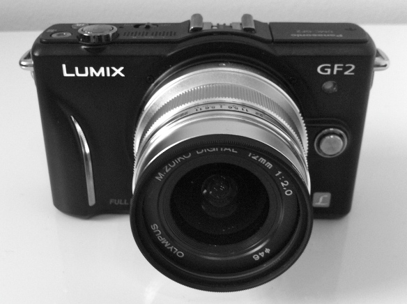 GF2 with Zuiko 12mm lens