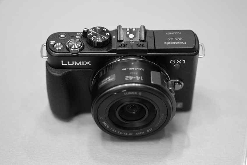 Panasonic GX1 with 14/45mm X lens