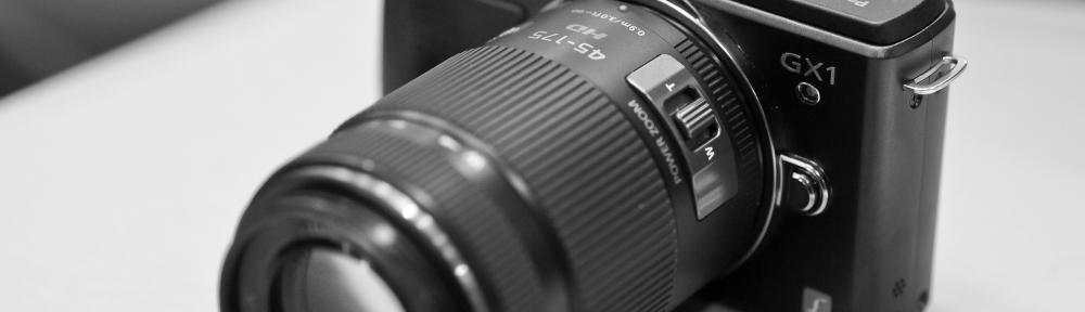 Panasonic GX1 WITH 45/175mm lens