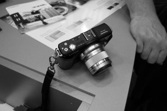 Olympus 45mm on GF2 shot with GX1