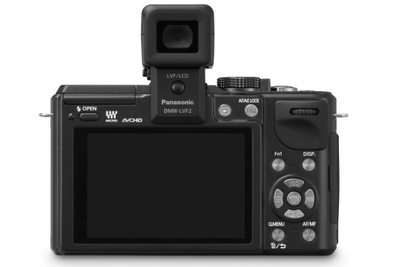 Lumix GX1 Back