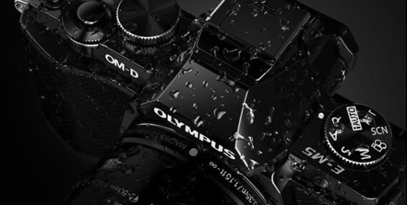 E-M5 splash resistant