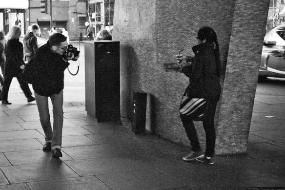 Flash Street Photo on Oxford St