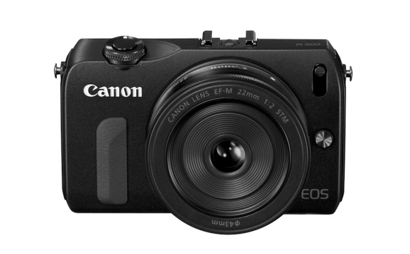 EOS M with Pancake Prime