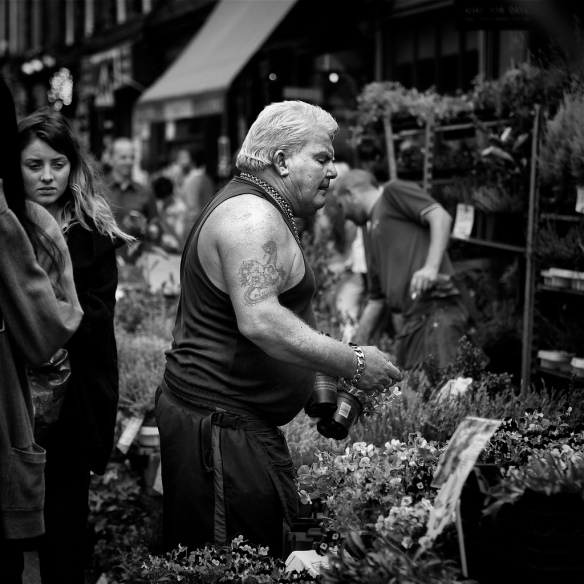 Columbia Road Flower Market Photo